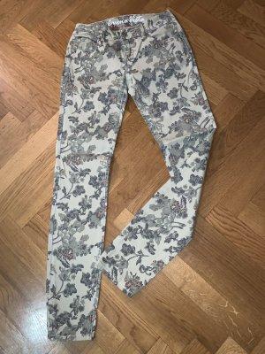 Buena Vista Slim Jeans multicolored cotton