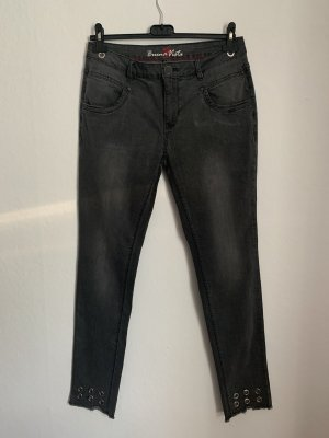 Buena Vista Skinny jeans zwart-antraciet