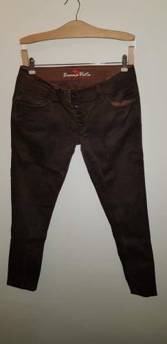 Buena Vista Spodnie biodrówki ciemnobrązowy