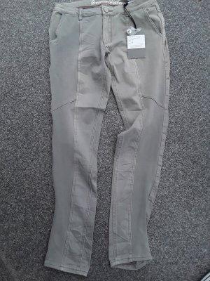 Buena Vista Jeans Melina Kontrast Größe M Neu Grau