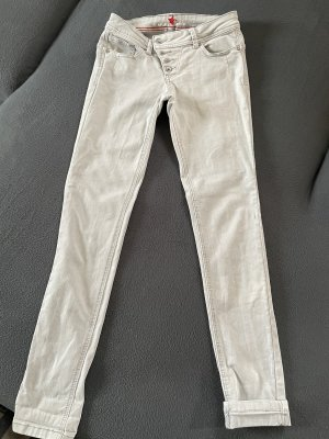 Buena Vista Skinny jeans lichtgrijs