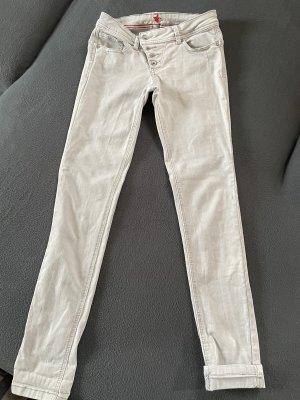 Buena Vista Skinny Jeans light grey
