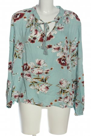 Buena Vista Long Sleeve Blouse allover print casual look