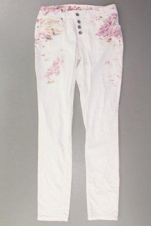 Buena Vista Jeansy w kolorze białej wełny