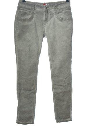 Buena Vista Spodnie rurki jasnoszary W stylu casual