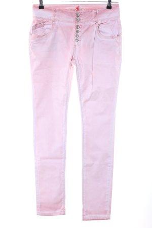 Buena Vista Röhrenhose pink Party-Look