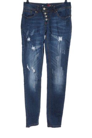 Buena Vista Tube Jeans blue casual look