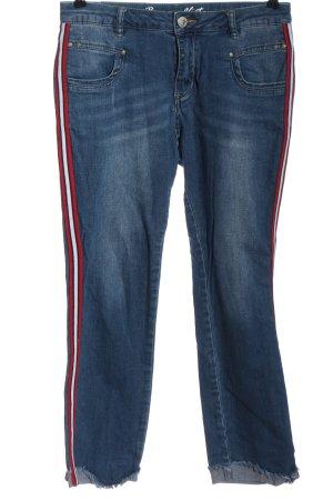 Buena Vista Tube Jeans multicolored casual look