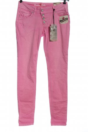 Buena Vista Tube jeans roze casual uitstraling