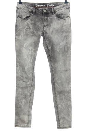 Buena Vista Tube Jeans light grey casual look