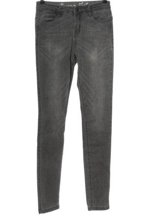 Buena Vista Tube jeans lichtgrijs casual uitstraling