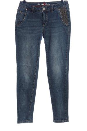 Buena Vista Jeans cigarette bleu style décontracté