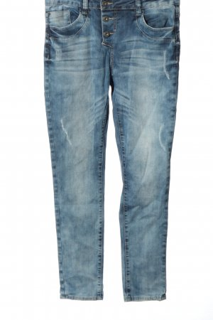 Buena Vista Tube jeans blauw casual uitstraling