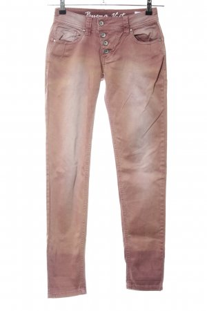 Buena Vista Röhrenjeans bronzefarben Farbverlauf Casual-Look