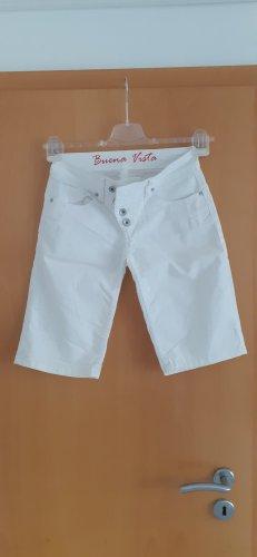 Buena Vista Shorts white cotton