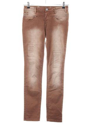 Buena Vista Skinny Jeans braun Casual-Look