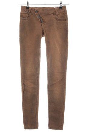 Buena Vista Skinny Jeans bronzefarben Casual-Look