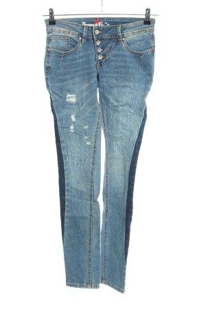 Buena Vista Skinny Jeans blue casual look