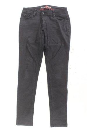 Buena Vista Skinny jeans zwart Katoen