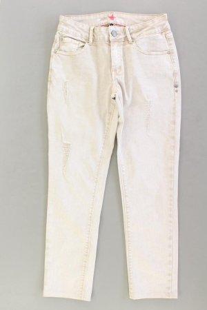 Buena Vista Skinny Jeans Größe S creme aus Baumwolle