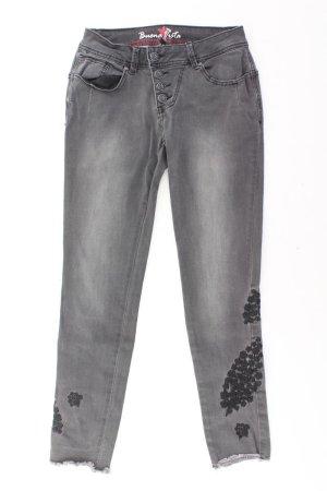 Buena Vista Skinny Jeans Größe XS grau aus Baumwolle