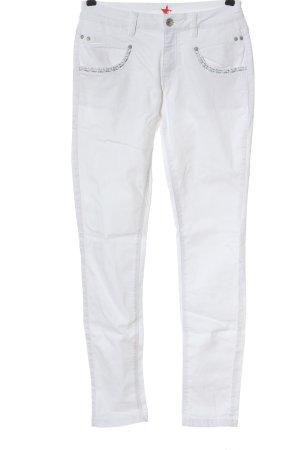 Buena Vista Skinny Jeans white casual look