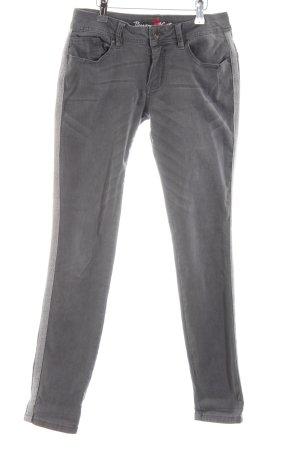 Buena Vista Skinny Jeans Zackenmuster Casual-Look