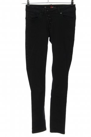 Buena Vista Slim Jeans schwarz Casual-Look