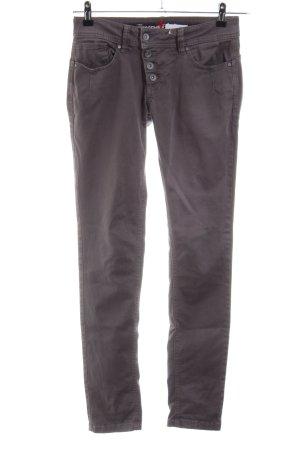 Buena Vista Slim Jeans lila Casual-Look