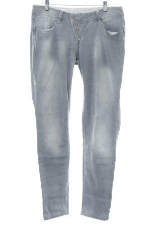Buena Vista Slim Jeans blau Farbverlauf Casual-Look