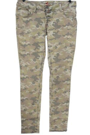 Buena Vista Slim jeans camouflageprint casual uitstraling