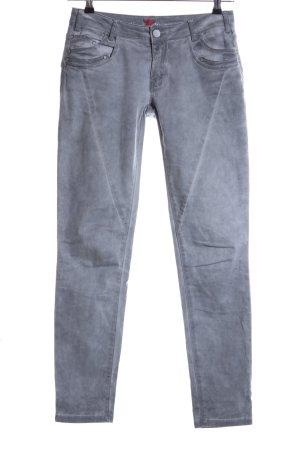 Buena Vista Slim Jeans hellgrau meliert Casual-Look