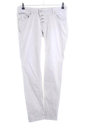 Buena Vista Slim Jeans weiß Casual-Look