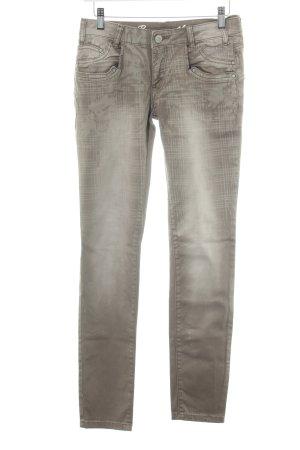 Buena Vista Slim Jeans hellbraun Washed-Optik