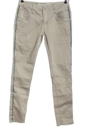 Buena Vista Jersey Pants natural white-black casual look
