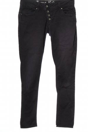 Buena Vista Straight-Leg Jeans lila Casual-Look