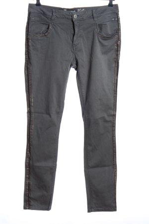 Buena Vista Straight-Leg Jeans schwarz Casual-Look
