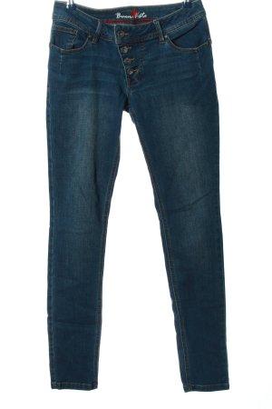 Buena Vista Straight-Leg Jeans blau Casual-Look