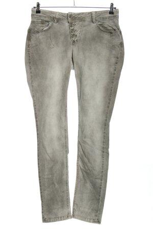 Buena Vista Straight-Leg Jeans hellgrau Casual-Look