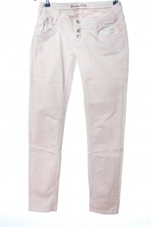 Buena Vista Straight-Leg Jeans wollweiß Casual-Look