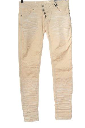 Buena Vista Jeans met rechte pijpen nude casual uitstraling