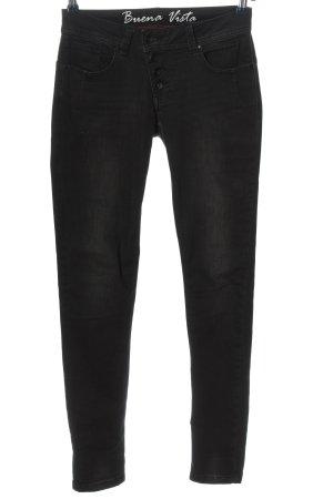 Buena Vista Stretch jeans zwart casual uitstraling