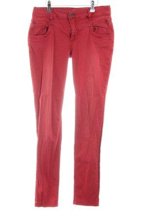 Buena Vista Stretch Jeans rot Casual-Look