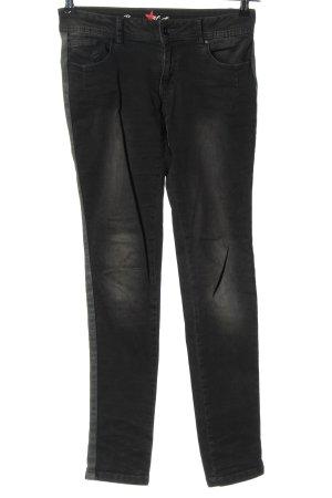 Buena Vista Stretch Jeans schwarz Casual-Look