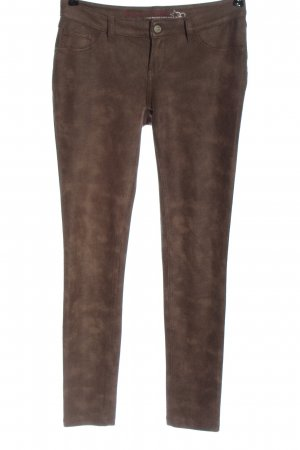 Buena Vista Stretch broek bruin volledige print casual uitstraling