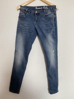 Buenna Vista Damen Hose Jeans Skinnyjeans Röhrenjeans