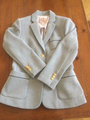 Brooks Brothers Klassischer Blazer jasnoszary-ciemnoniebieski