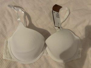 H&M Robe de bain blanc