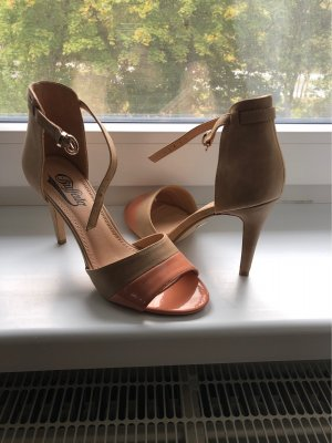 Buffalo High Heels beige-apricot