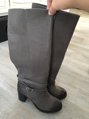 Buffalo Wide Calf Boots taupe